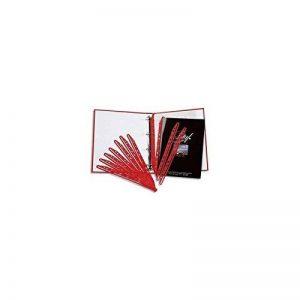 5 Etoiles ETL-911905 911905 Paquet de 100 bandes perforées porte- revues Polypropylène Rouge de la marque 5 Etoiles image 0 produit