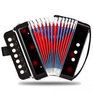 Accordéons à Touches Bouton NASUM solo et ensemble accordéon pour débutants adultes et enfants avec 7 touches de la marque image 0 produit