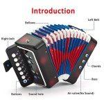 Accordéons à Touches Bouton NASUM solo et ensemble accordéon pour débutants adultes et enfants avec 7 touches de la marque image 3 produit