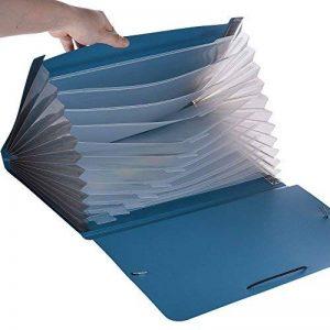 Aibecy Porte-documents Trieur à Soufflets en Couleur 13 Compartiments A4 Format - NOIR/BLEU/ROUGE/VERT de la marque Aibecy image 0 produit