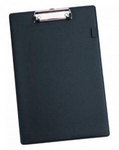 Alba PLAQUE Plaque Porte-Bloc Pvc avec Pince Pour Bloc/Feuilles A4 noir de la marque Alba image 0 produit