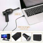 [Aspirateur USB ] Aimego Mini Portable USB Aspirateur pour Clavier de l'Ordinateur Portable , PC, Boîtes Satellite TV, DVD, Noir de la marque Aimego image 4 produit