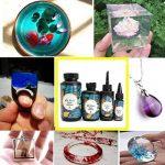 Austinstore UV Résine dur Colle pour faite à la main Art Crafts DIY Résine Moule à la confection de bijoux 200g 1 couleur de la marque Austinstore image 2 produit