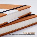 Bullet Journal/Carnet Pointillé - Lemome Dotted Sketchbook avec Papier épais Premium - Diviseurs Cadeaux, A5, 8,4 x 5,7 pouces (Marron) de la marque Lemome image 2 produit