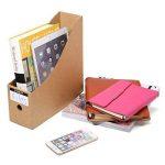 Caveen Lot de 5 porte-revues de style moderne, simple et tendance - espace de rangement pour votre bureau 5Pcs/Pack de la marque Caveen image 2 produit