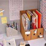Caveen Lot de 5 porte-revues de style moderne, simple et tendance - espace de rangement pour votre bureau 5Pcs/Pack de la marque Caveen image 3 produit