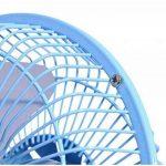 """Da.Wa Mini Ventilateur USB de Bureau Silencieux Portable Mini Fan 6"""" Orientation réglable à 360 Compatible pour PC Ordinateur Portable de la marque Da.Wa image 2 produit"""