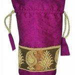 Designer sac soie Bijoux & monnaies Pochettes cadeau de mariage de la marque Lalhaveli image 1 produit