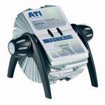 Durable 241701 Visifix Flip Fichier Rotatif pour 400 Cartes de Visite avec Index Alphabétique 25 Touches Noir/Gris de la marque Durable image 1 produit