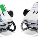 Durable 248123 Visifix Rotatif Fichier pour 400 Cartes de Visite avec Index 25 Touches Argent Métallisé de la marque Durable image 2 produit