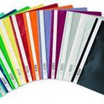 Durable 257303 Chemise à Lamelles Format A4 avec Couverture Transparent Dos Rouge Lot de 50 de la marque Durable image 2 produit