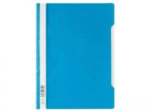 Durable 257306 Chemise à Lamelles Format A4 avec Couverture Transparent Dos Bleu Lot de 50 de la marque Durable image 0 produit