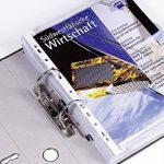 Durable 293502 Baguette Reliure Porte-catalogues A4 avec Perforations Universelles Blanc Lot de 50 de la marque Durable image 2 produit