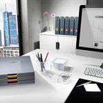 Durable 770657 Varicolor Lot de 5 boîtes de rangement Anthracite Range-revues de la marque Durable image 3 produit