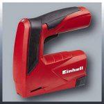 Einhell TC-TK Kit de bricolage composé d'un pistolet agrafeur et d'un pistolet à colle avec chargeur inclus 1000agrafes et 28 bâtons de colle à chaud Batterie 3,6Lithium-Ion 3,6V de la marque Einhell image 2 produit