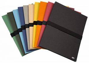 Elba 400081928 Pack de 10 Chemises à sangle extensibles 24 x 32 Fermeture Velcro - Modèle Aléatoire de la marque Elba image 0 produit