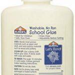 Elmer de E304113,4gram/118.2ml lavable pas Exécuter l'école Colle, Blanc, blanc, 4 Oz. Bottle, 4 Pack de la marque Elmer's image 1 produit