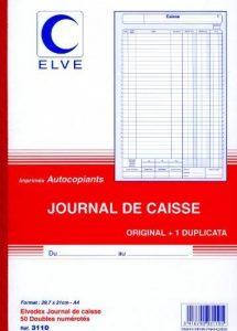 ELVE 22957 Manifold Autocopiant A4 2 10x297mm Foliotage 50 Duplis Livraisons Caisse Assorties de la marque Elve image 0 produit