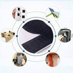 Eroilor 24 m Bande Agrippantes Adhésives, Autocollant Flausch & crochets, 20 mm de large - Noir de la marque Eroilor image 3 produit