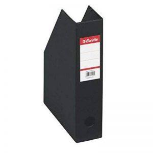 ESSELTE Lot de 5 Boîtes de classement pliable PVC A4 Maxi Dos de 10 cm Noir de la marque Esselte Group image 0 produit