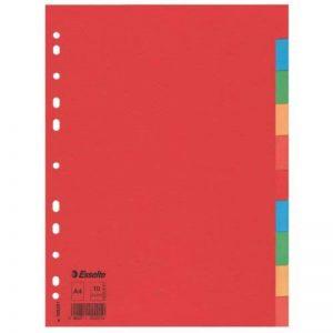 Esselte Pendaflex A4 10 à intercalaires Economy Cartes Dividers - Multicolore de la marque Esselte Group image 0 produit
