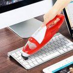 EVERTOP Mini Aspirateur portable sans fil et sans sac Aspirateur à main léger pour voiture Aspirateur de table Rouge (1500 PA) de la marque EVERTOP image 4 produit