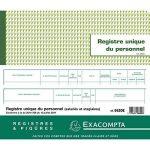 Exacompta 6620E Piqure Registre Unique du Personnel 27/32 40 Pages de la marque Exacompta image 4 produit