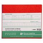 Exacompta 6800E Piqûre Journal de Caisse/Banque 31 Lignes 80 Pages de la marque Exacompta image 2 produit