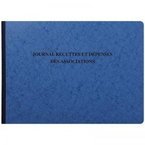 Exacompta 9650E Piqure 27/38 Journal Recette Dépenses des Associations 80 Pages de la marque Exacompta image 0 produit