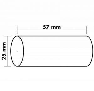 Exacompta Bobine calcul 57 x 25 mm sans mandrin Lot de 10 de la marque Exacompta image 0 produit