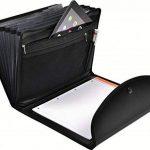Exacompta - Réf. 55834E - Trieur Exafolio avec porte-bloc et valisette Exactive- 6 compartiments - noir de la marque Exacompta image 4 produit