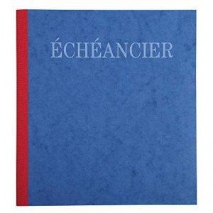 Exacompta - Réf. 960E - Piqûre 21x19cm Èchéancier Tracé Journal 80 Pages - Couleur Aléatoire de la marque Exacompta image 0 produit