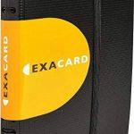 Exacompta - Réf. 75034E - Exacard Porte Cartes de Visite à Spirales Exactive - Capacité 120 Cartes - Polypropylène - Noir de la marque Exacompta image 2 produit