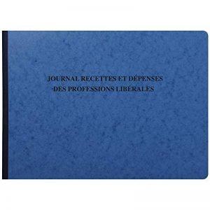 Exacompta - Réf. 9620E - Piqûre Journal des Recettes Dépenses des Professions Libérales - 27 x 38 cm - 80 pages - Couleur Aléatoire de la marque Exacompta image 0 produit