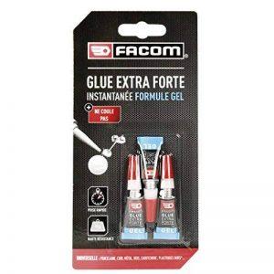 FACOM 84671 Colle cyano gel 3 x 1 g, Transparent, Set de 3 Pièces de la marque Facom image 0 produit