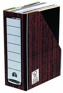 Fellowes 0723301 Porte-revues Banker Box Premium - Montage automatique - Naturel (lot de 10) de la marque Fellowes image 0 produit