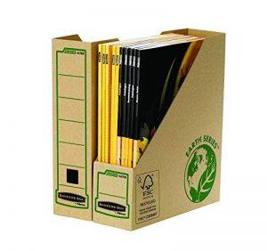 Fellowes 4470001 Porte-revues A4 Banker Box Earth Series - Montage manuel (lot de 20) de la marque Fellowes image 0 produit