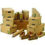 Fellowes 4470001 Porte-revues A4 Banker Box Earth Series - Montage manuel (lot de 20) de la marque Fellowes image 2 produit