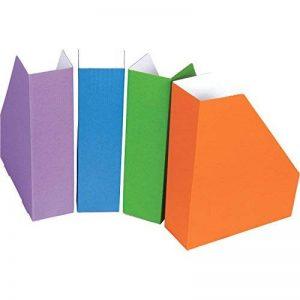 Fellowes 4483402 Pack de 4 Porte-revues Bankers Box A4 Couleurs Assorties de la marque BANKERS BOX image 0 produit