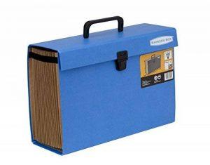 Fellowes 9352201 Trieur Accordéon Handifile Bankers Box - Bleu de la marque Fellowes image 0 produit