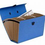 Fellowes 9352201 Trieur Accordéon Handifile Bankers Box - Bleu de la marque Fellowes image 1 produit