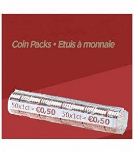 FORMAREC - Lot de 100 étuis - Coques pour mise en rouleau des pièces de 0.01 EURO. de la marque FORMAREC image 0 produit