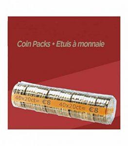 FORMAREC - Lot de 100 étuis - Coques pour mise en rouleau des pièces de 0.20 EURO. de la marque FORMAREC image 0 produit