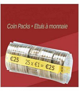 FORMAREC - Lot de 100 étuis - Coques pour mise en rouleau des pièces de 1.00 EURO. de la marque FORMAREC image 0 produit
