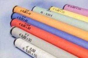 FORMAREC - Tubes en papier pour mise en rouleau des pièces €. Lot de de 1000 tubes panachés (974unit) de la marque FORMAREC image 0 produit