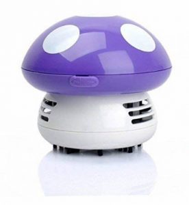 Gearmax® Mignon Mini champignon Bureau Table poussière Aspirateur à main Sweeper - champignon super Mario de la marque Gearmax image 0 produit