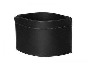 GIUSY: porte-revues en cuir couleur Noir, porte journaux, sac de rangement, range-revues made in Italy by Limac Design. de la marque Gavemo image 0 produit