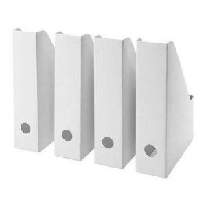 IKEA fluns Porte-revues en blanc–Lot de 4 de la marque Ikea image 0 produit