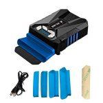 KLIM k29 Cool Refroidisseur PC Portable Gamer [Version 2016] - Ventilateur Haute Performance pour Refroidissement Rapide - Extracteur d'air Chaud USB, Bleu de la marque KLIM image 1 produit