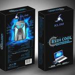 KLIM k29 Cool Refroidisseur PC Portable Gamer [Version 2016] - Ventilateur Haute Performance pour Refroidissement Rapide - Extracteur d'air Chaud USB, Bleu de la marque KLIM image 2 produit